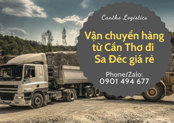 Dịch vụ vận tải hàng hóa Cần Thơ - Sa Đéc giá rẻ tại Cantho Logistics