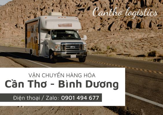 Dịch vụ vận chuyển hàng từ Cần Thơ đi Bình Dương tại Cantho Logistics